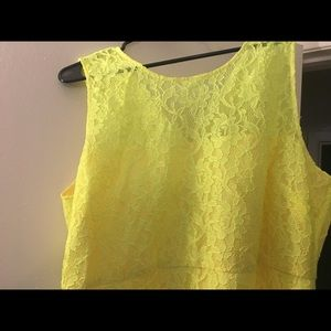 J. Crew Dresses - J Crew yellow lace dress new with Tags